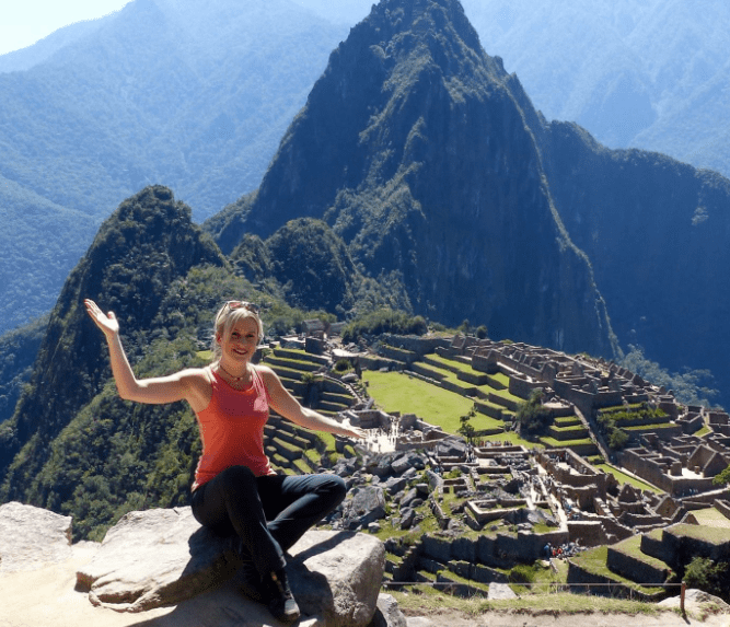 Disfrute de Machu Picchu